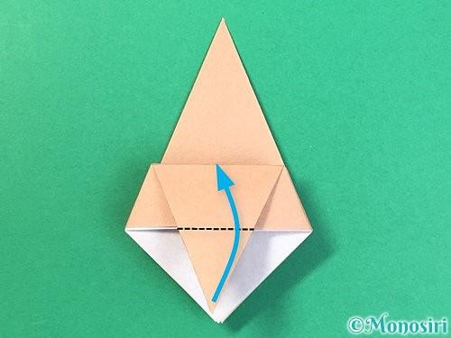 折り紙で菓子鉢の折り方手順20
