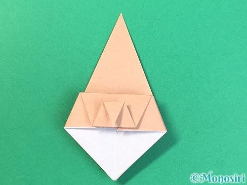折り紙で菓子鉢の折り方手順23