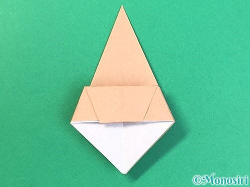 折り紙で菓子鉢の折り方手順26