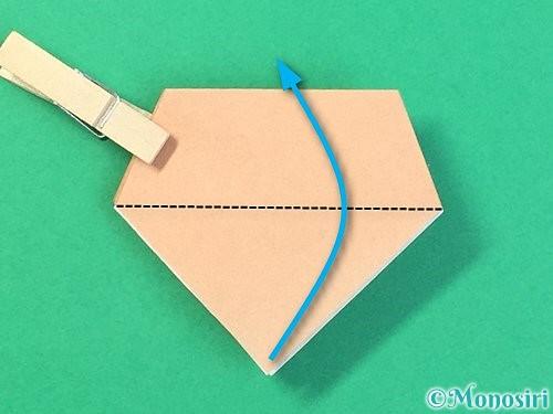 折り紙で菓子鉢の折り方手順30