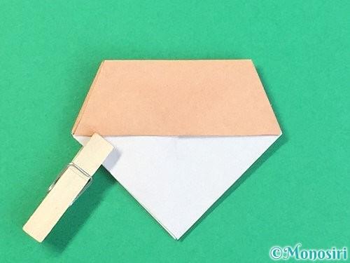 折り紙で菓子鉢の折り方手順36