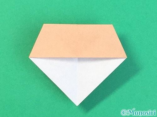 折り紙で菓子鉢の折り方手順37