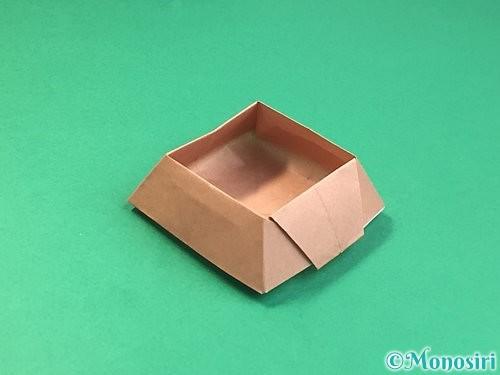 折り紙で菓子鉢の折り方手順41