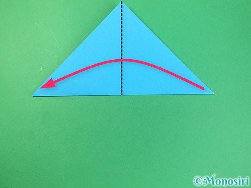 折り紙で角香箱の折り方手順3