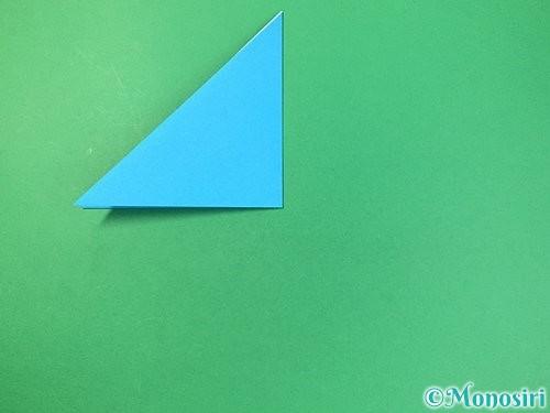 折り紙で角香箱の折り方手順4
