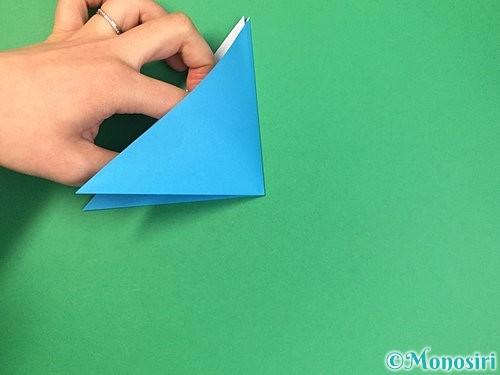 折り紙で角香箱の折り方手順5