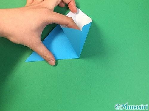 折り紙で角香箱の折り方手順6
