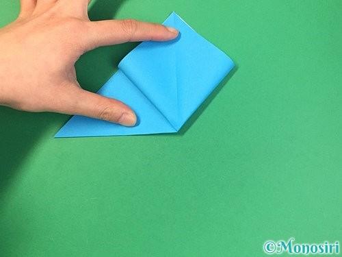 折り紙で角香箱の折り方手順7