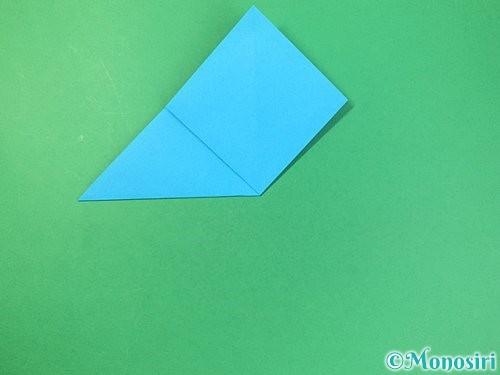 折り紙で角香箱の折り方手順8