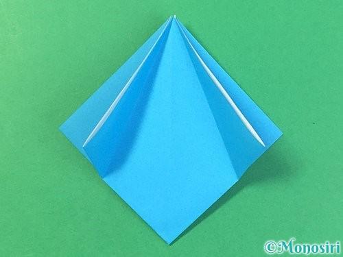 折り紙で角香箱の折り方手順10