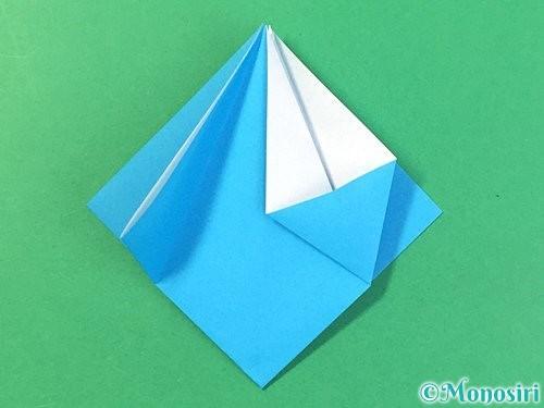 折り紙で角香箱の折り方手順13