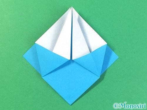 折り紙で角香箱の折り方手順14