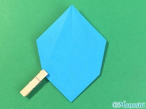 折り紙で角香箱の折り方手順17