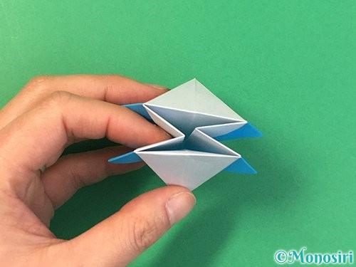 折り紙で角香箱の折り方手順24