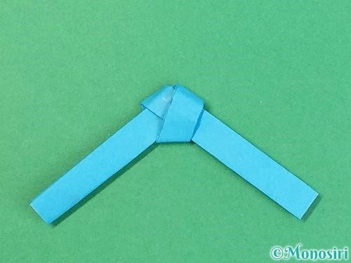折り紙で箸置きの折り方手順12