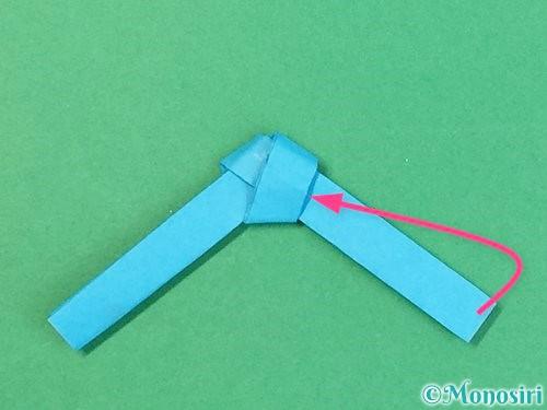 折り紙で箸置きの折り方手順13