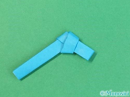 折り紙で箸置きの折り方手順14