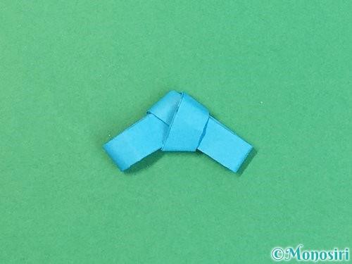 折り紙で箸置きの折り方手順15