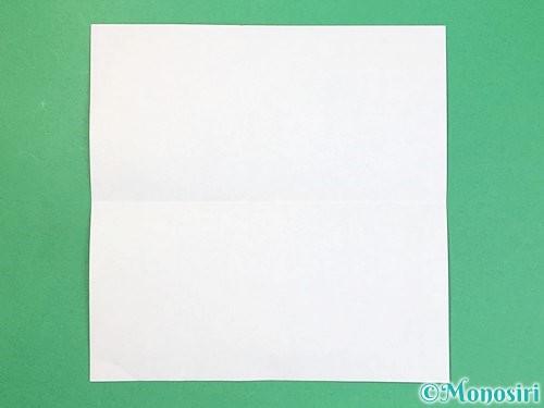 折り紙でアルファベットのBの折り方手順2