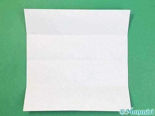 折り紙でアルファベットのBの折り方手順4
