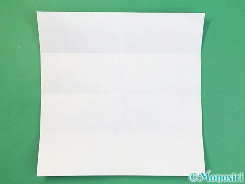 折り紙でアルファベットのBの折り方手順6