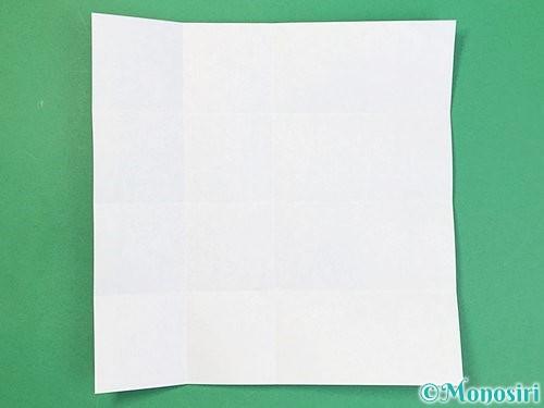 折り紙でアルファベットのBの折り方手順8