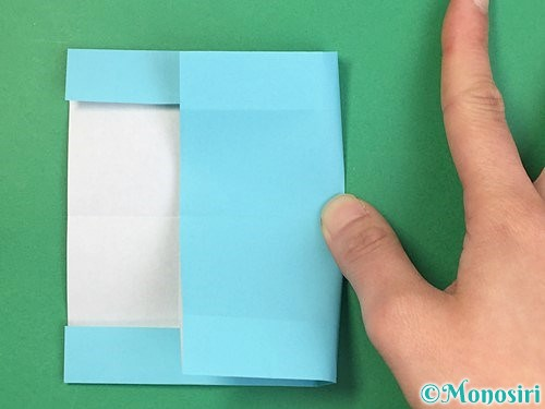 折り紙でアルファベットのBの折り方手順12