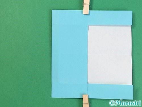 折り紙でアルファベットのBの折り方手順15