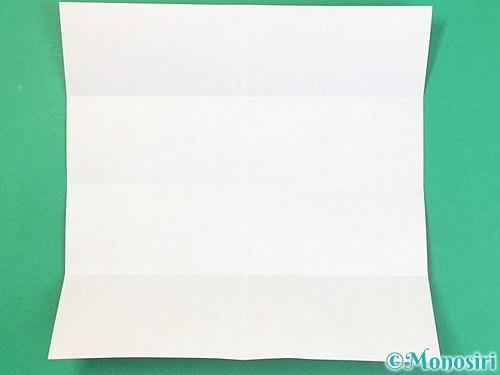 折り紙でアルファベットのDの折り方手順4