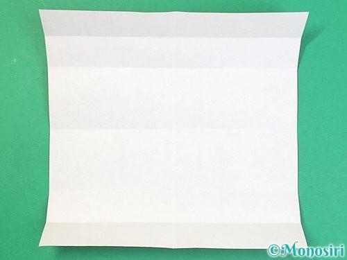折り紙でアルファベットのDの折り方手順6