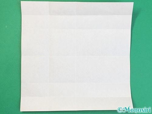 折り紙でアルファベットのDの折り方手順8
