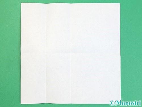 折り紙でアルファベットのFの折り方手順4