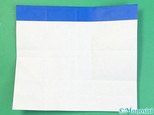 折り紙でアルファベットのFの折り方手順16