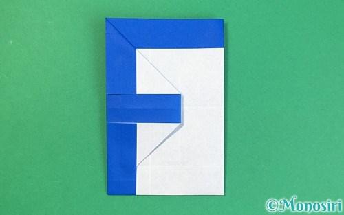 折り紙で作ったアルファベットのF