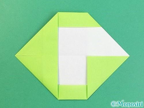 折り紙でアルファベットのGの折り方手順10