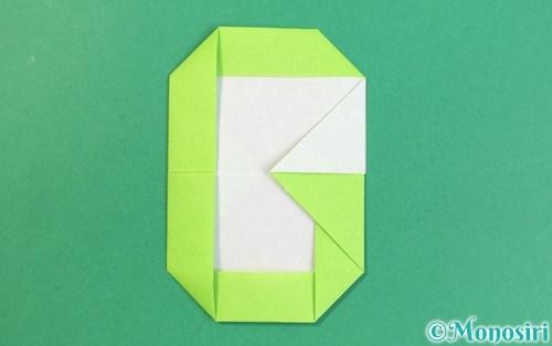 折り紙で作ったアルファベットのG