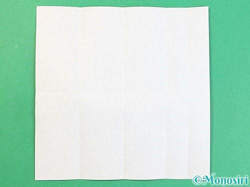 折り紙でアルファベットのJの折り方手順6