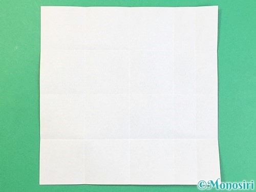 折り紙でアルファベットのJの折り方手順8