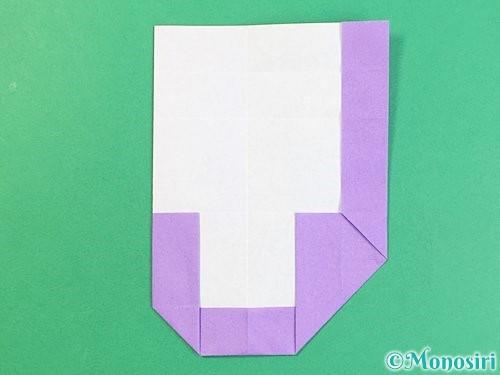 折り紙でアルファベットのJの折り方手順16