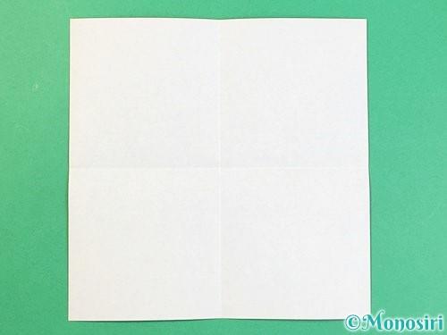 折り紙でアルファベットのKの折り方手順2