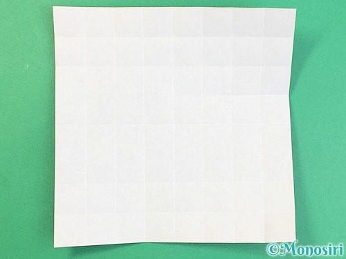折り紙でアルファベットのKの折り方手順17