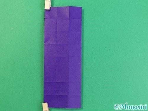 折り紙でアルファベットのKの折り方手順21