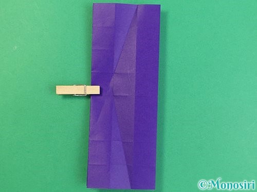 折り紙でアルファベットのKの折り方手順25