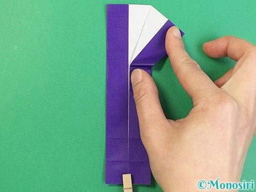 折り紙でアルファベットのKの折り方手順32
