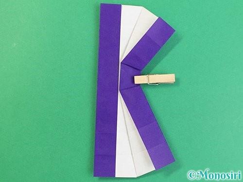 折り紙でアルファベットのKの折り方手順35
