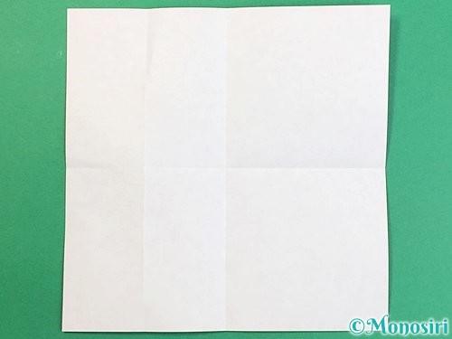 折り紙でアルファベットのQの折り方手順4