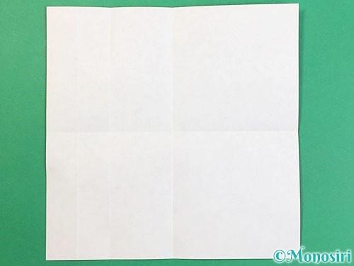 折り紙でアルファベットのQの折り方手順6