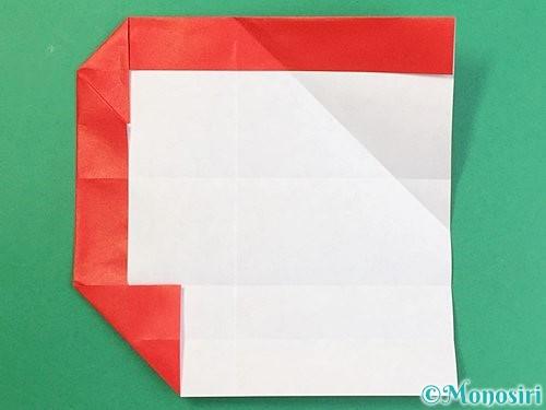 折り紙でアルファベットのQの折り方手順18