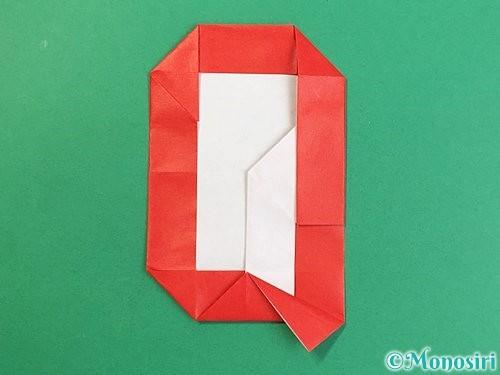 折り紙でアルファベットのQの折り方手順33