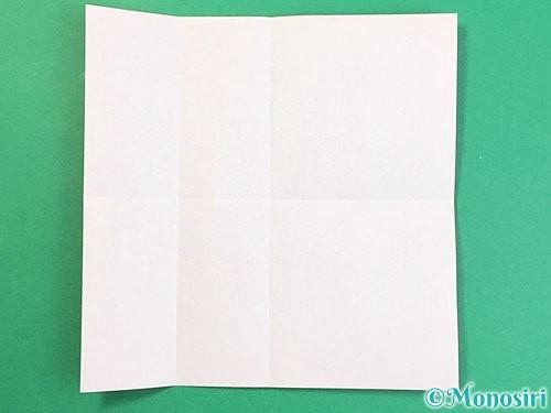 折り紙でアルファベットのVの折り方手順4